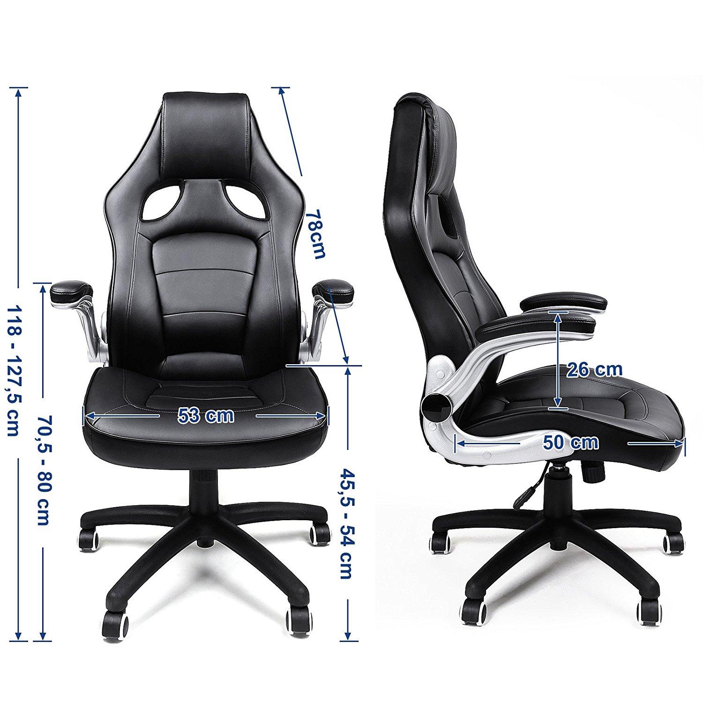La chaise de bureau Songmics OBG62B