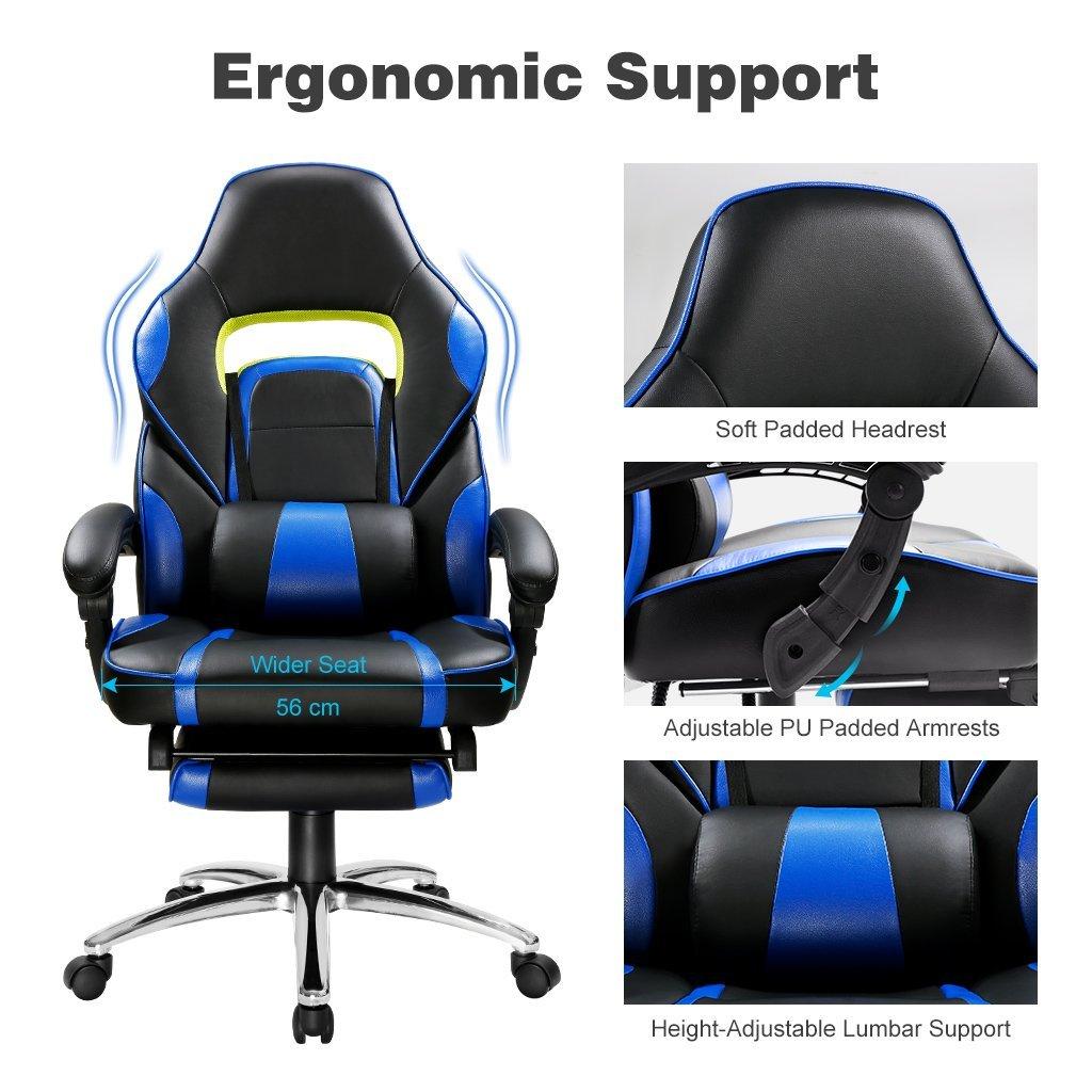 Une chaise de bureau très ergonomique