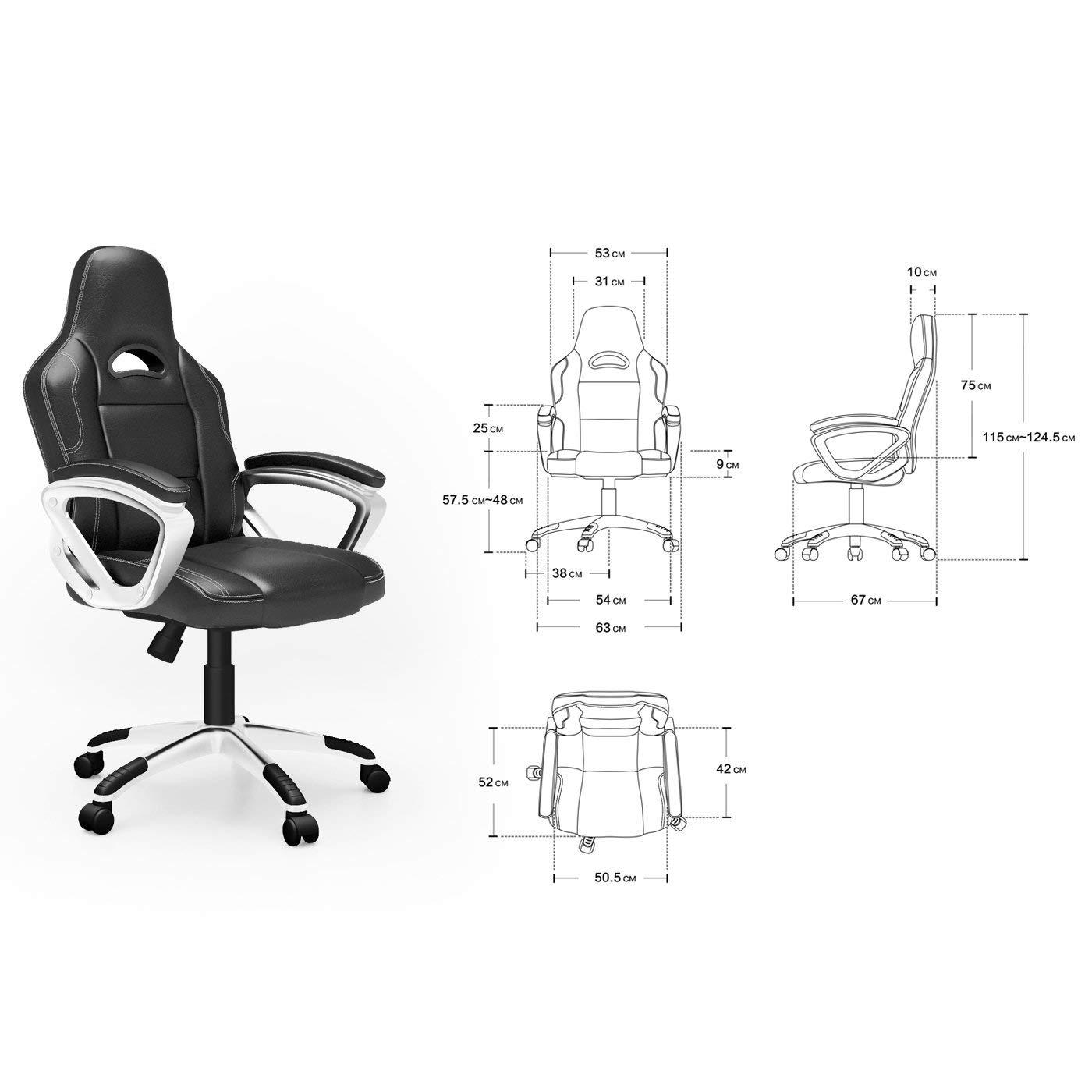 Une chaise de bureau totalement modulable