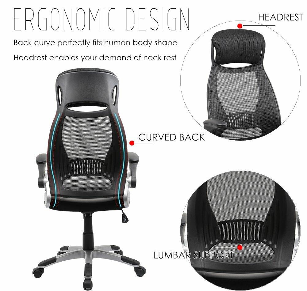 Excellent fauteuil de bureau ergonomique Avis Test